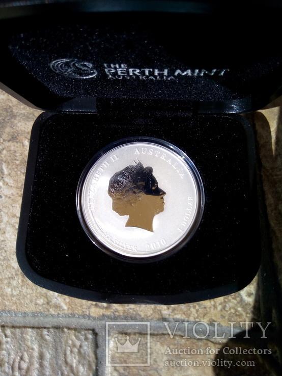 1 доллар Год тигра 2010, фото №3