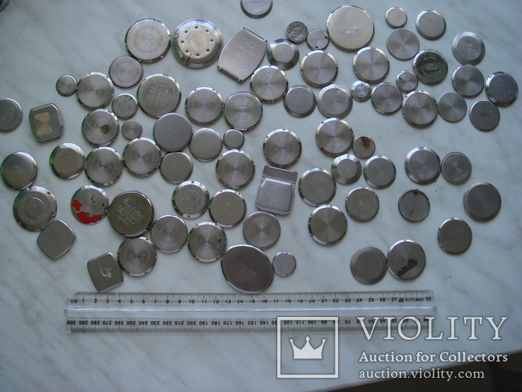 Крышка к часам 70 шт. разные, фото №2