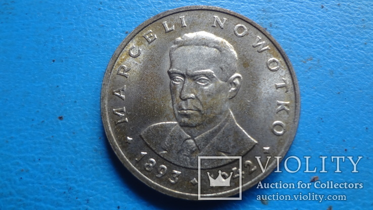 20  злотых  1976  Польша   (5.1.2)~, фото №2
