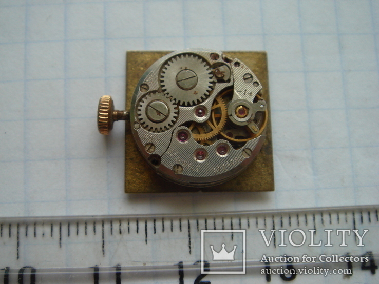 Механизм с циферблатом к часам Чайка, фото №5