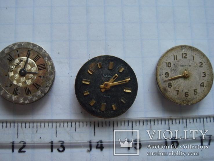 Механизм к часам с циферблатом Чайка. 5 шт., фото №5