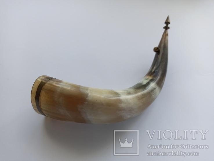 Рог для вина сувенирный. СССР., фото №7