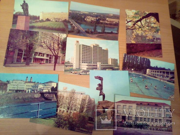 Ужгород, 10 открыток, изд. Минсвязи СССР 1981, фото №6