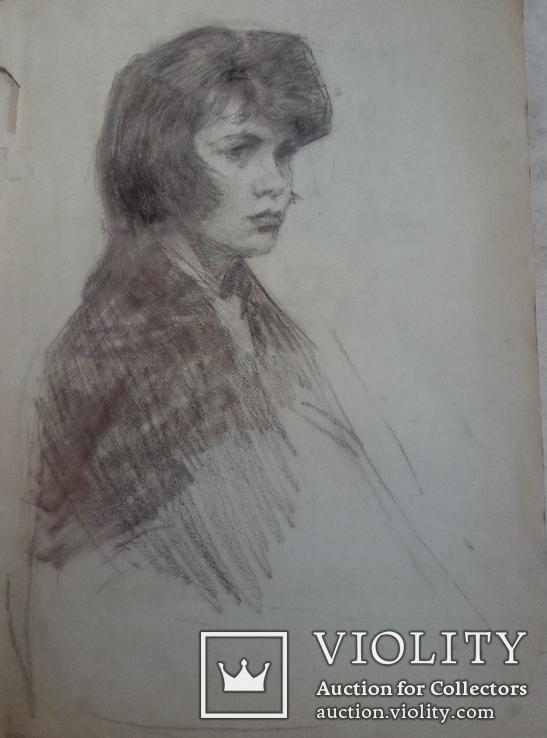 Девушка в платке., фото №2