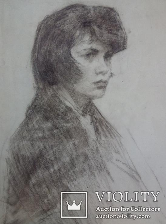 Девушка в платке., фото №3