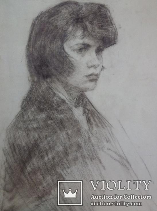Девушка в платке., фото №4