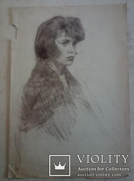 Девушка в платке., фото №5