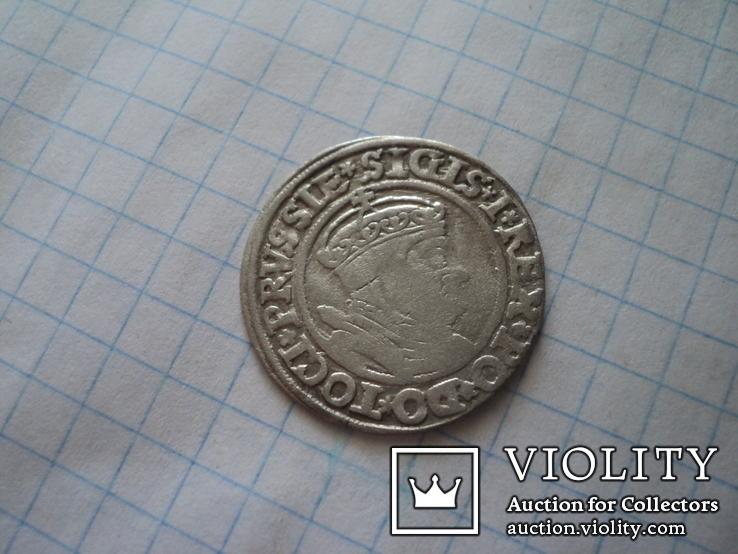 Грош 1535 г, фото №3