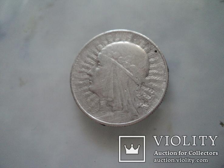5 злотых 1934 г, фото №4
