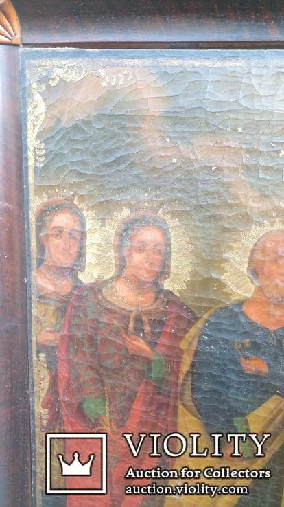 Икона Святых храмовая 78см * 72см, фото №8