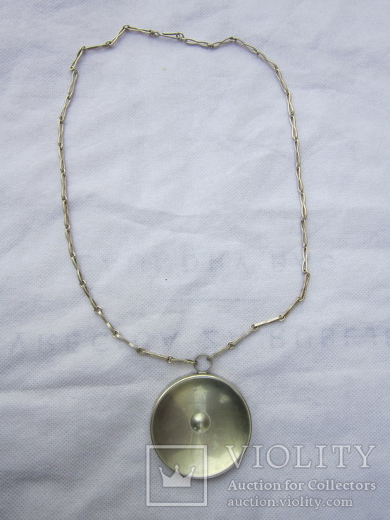 Ожерелья из серебра, фото №2