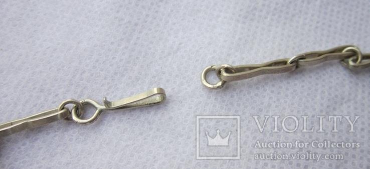 Ожерелья из серебра, фото №13
