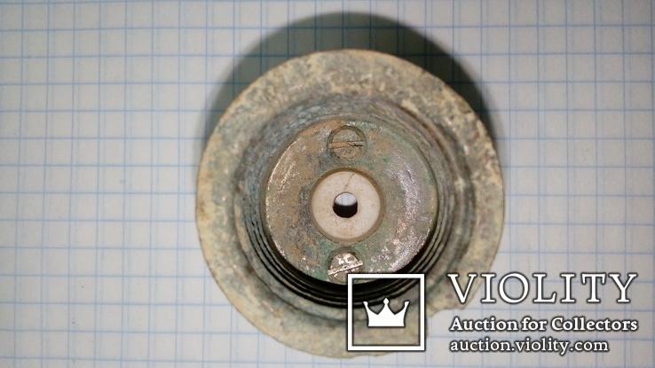 Керамический электрический немецкий патрон с ПМВ с клеймом, фото №6