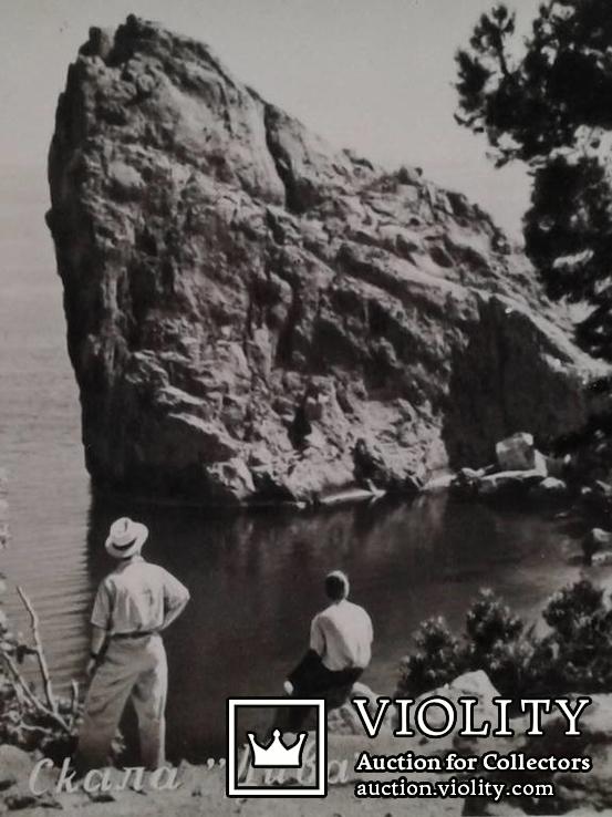 """Симеиз. Скала ,,Дива"""". (Фото-открытка)., фото №12"""