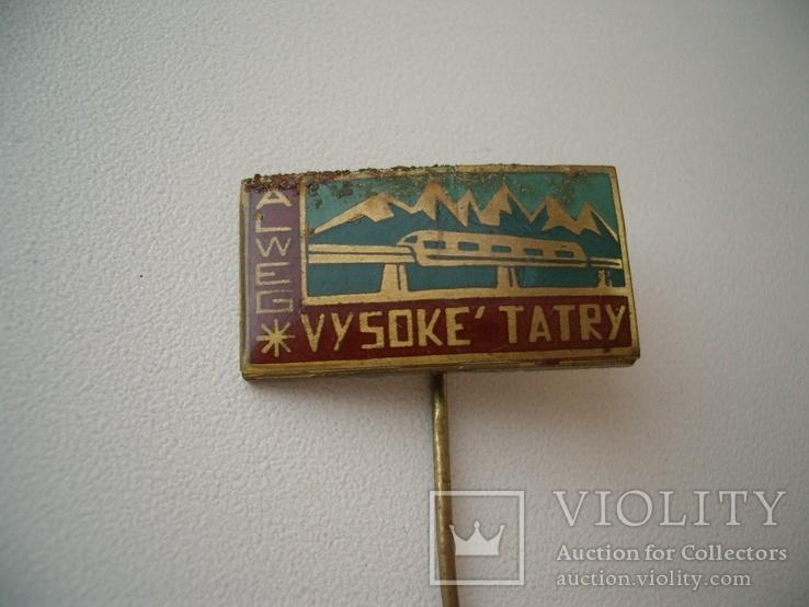 """10 значков """"Высокие Татры"""" альпинизм туризм ЧССР, фото №11"""