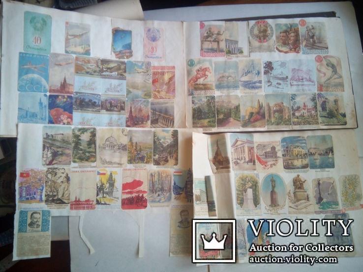 Альбом с вырезками из почтовых конвертов (34листа), фото №8