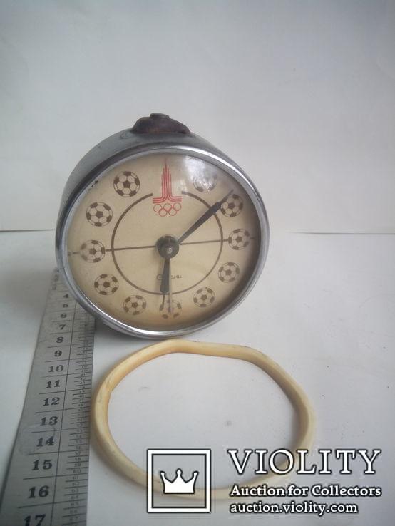 Часы будильник Севани Олимпиада +бонус, фото №2