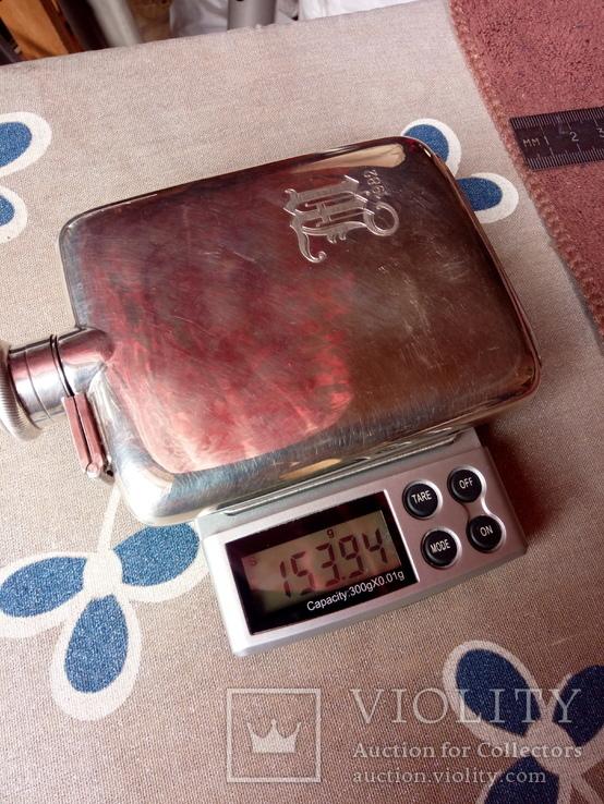 Фляга серебряная, фото №13