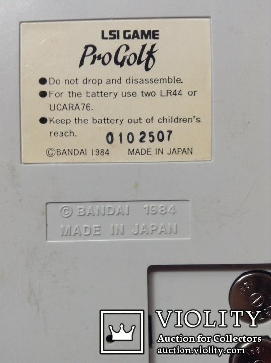 Электронная игра ProGolf, Япония, 1984 г, фото №5