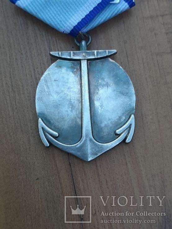 Медаль Адмирал Ушаков (копия), фото №4