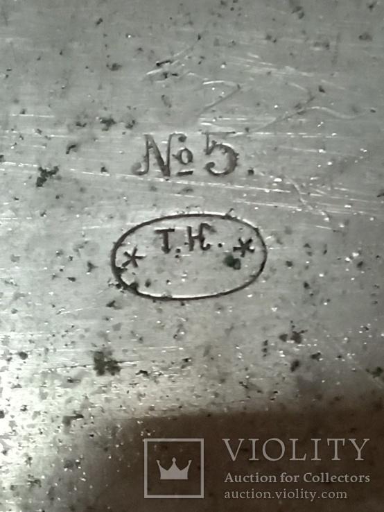 Поднос советский (скважина) к самовару, фото №3