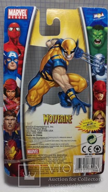 Majorette Wolverine (X-Men) 2006 China, фото №3