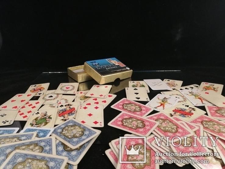 """Карти колекційні дві колоди """"Empire Patience"""". Тематика монархи, члени королівської сім'ї, фото №2"""
