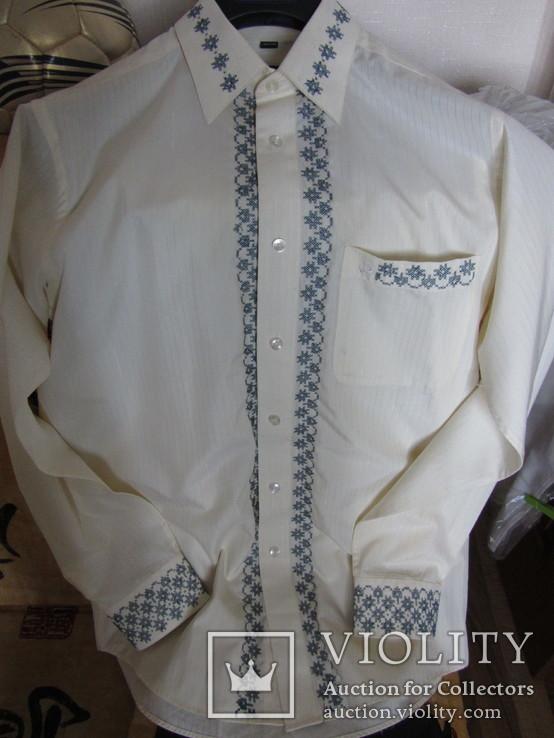 Мужская рубашка-вышиванка. Ручная работа., фото №2