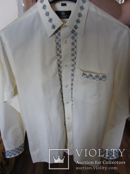 Мужская рубашка-вышиванка. Ручная работа., фото №4