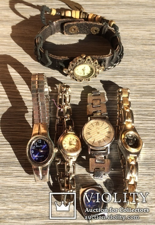Женские часы разных производителей на запчасти, фото №2