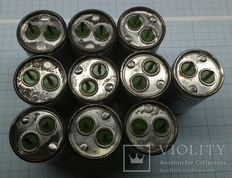 376 Конденсаторы Тесла маслонаполненые 10шт., фото №3