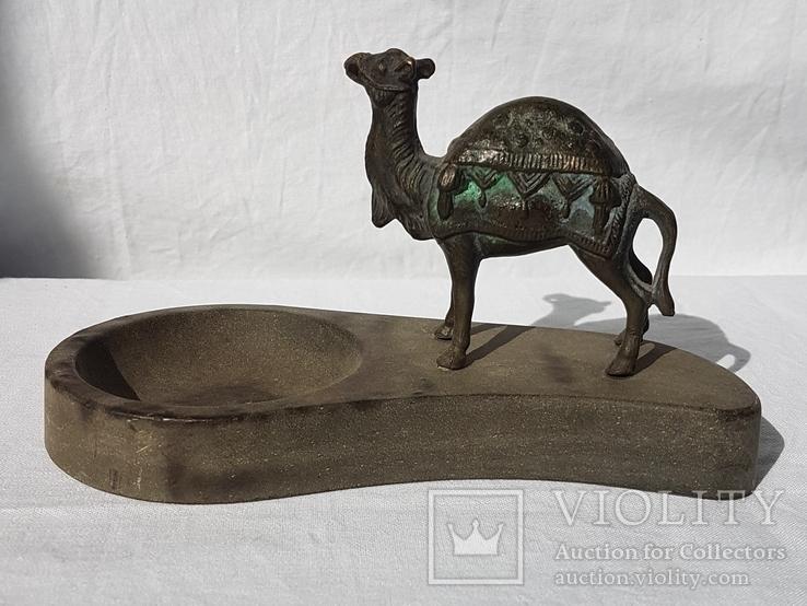 Верблюд-пепельница СССР ЧСЗ НИМОР, фото №4