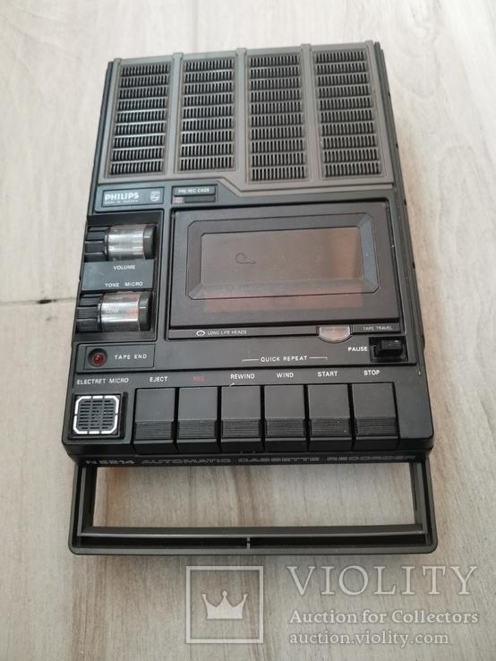 Магнитофон кассетный. Philips N2214, фото №2
