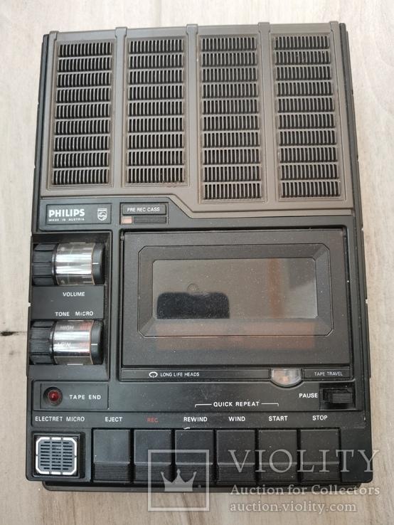 Магнитофон кассетный. Philips N2214, фото №6