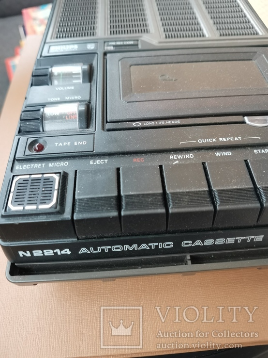 Магнитофон кассетный. Philips N2214, фото №7