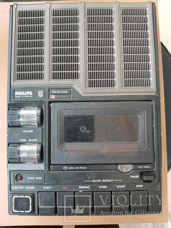 Магнитофон кассетный. Philips N2214, фото №8