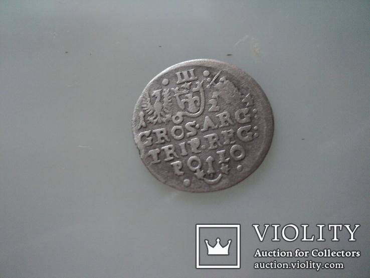 Трояк 1624 г, фото №5