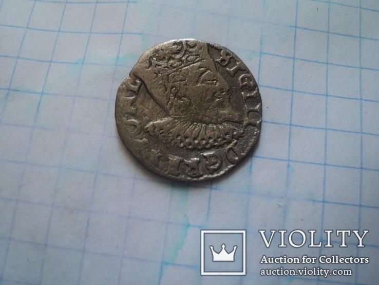 Трояк 1601 г, фото №4