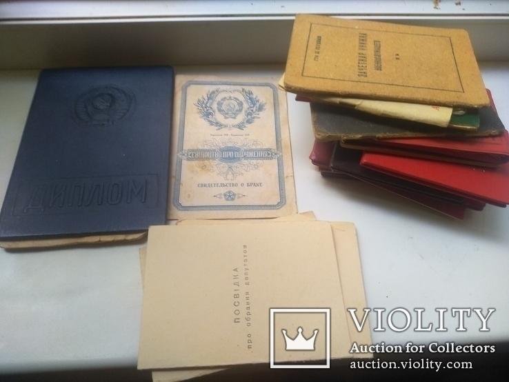 23 шт. Старых документов(большинство на одних . Свид. о браке,рождении и др.), фото №2