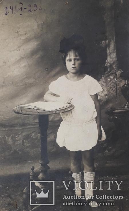 Детская фотография (9*14) 1929 год, фото №3