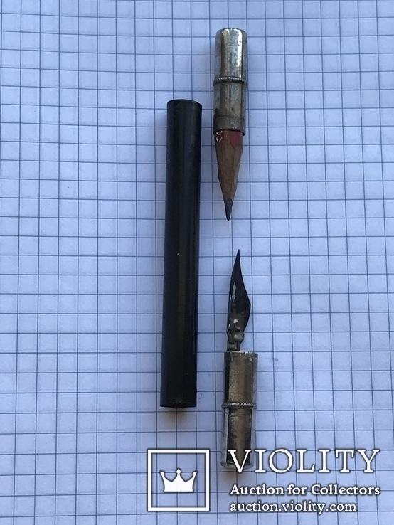 Ручка перьевая (складная) б/у, фото №2