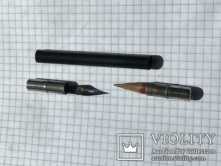 Ручка перьевая (складная) б/у, фото №4
