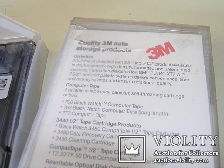 Кассета для стримера 60 мб 3М 3 шт. в лоте, фото №4