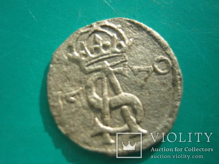 Срібний двухдинар 1570 року, фото №3
