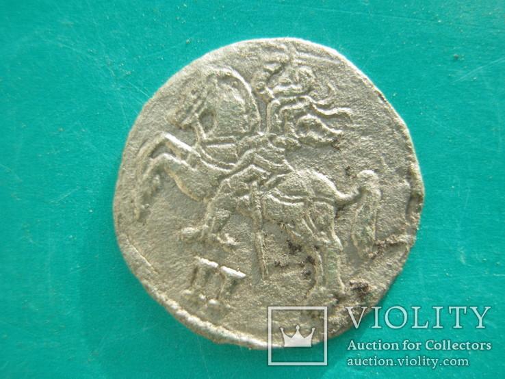 Срібний двухдинар 1570 року, фото №5