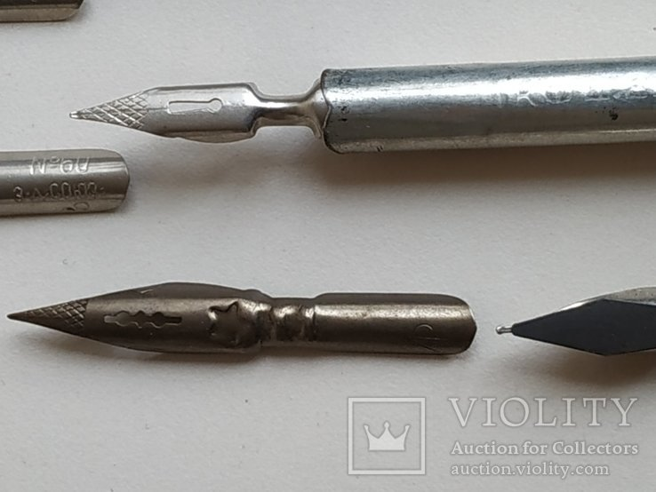 3 перьевые ручки и 20 шт. перьев, фото №12