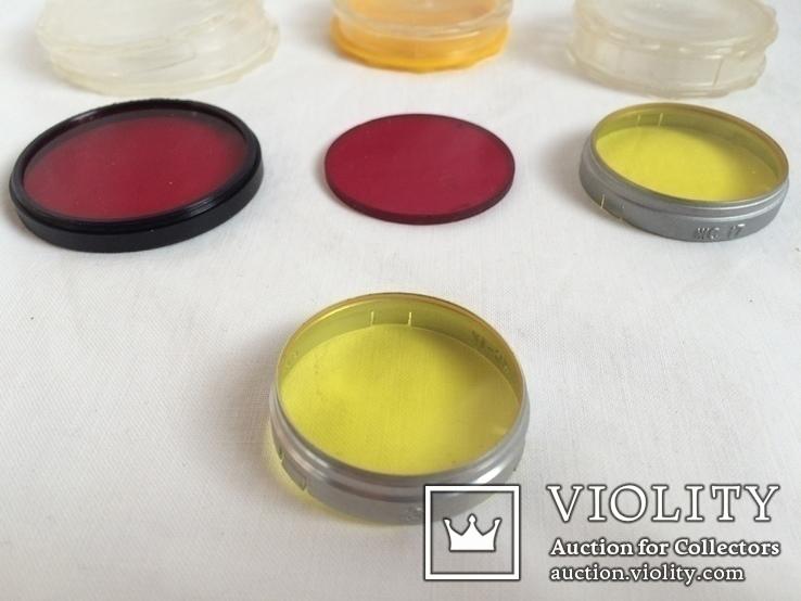 Цветные светофильтры и коробочки от них, фото №4