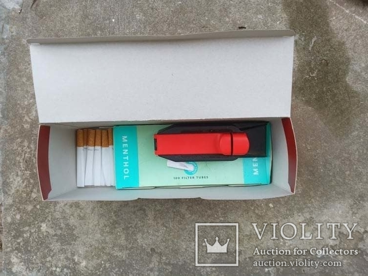 Машинка для виробництва сигарет + гільзи, фото №5