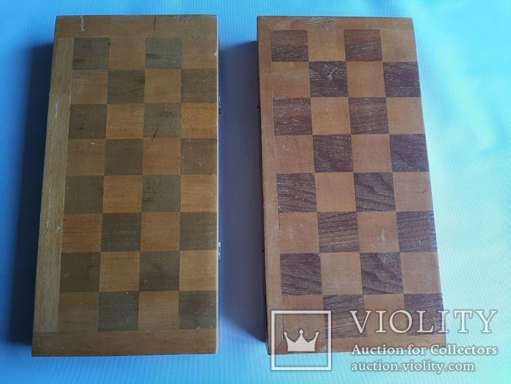 Две шахматные доски., фото №2