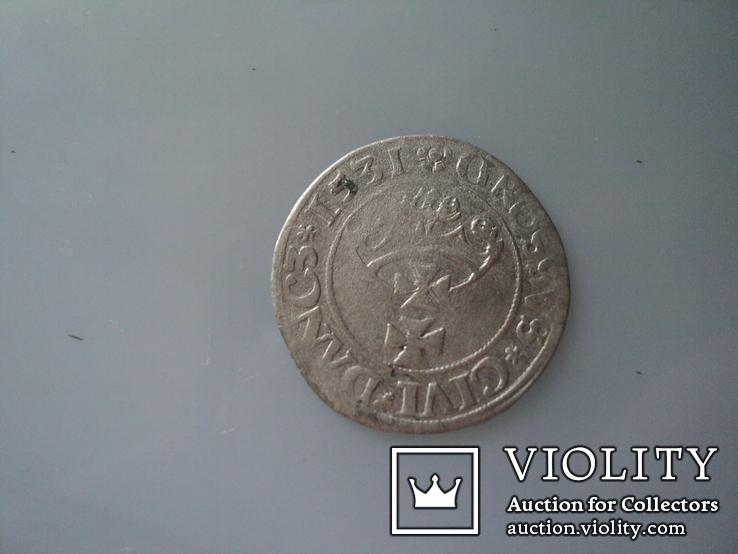 Гданьский грош 1531 г, фото №7